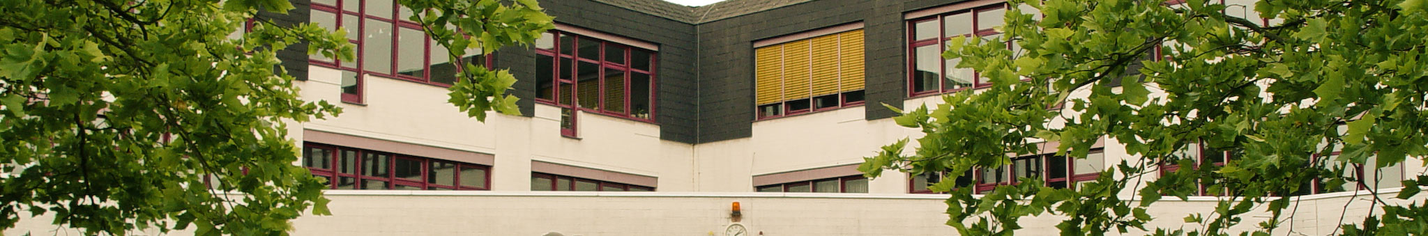 Die Fassade des Neubaus der Johannes-Vatter-Schule