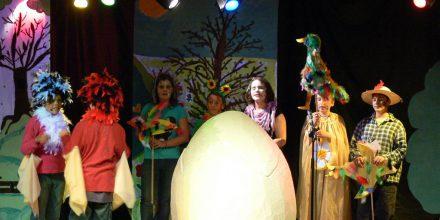 Jedes Jahr führen die vierten Klassen ein Theaterstück auf