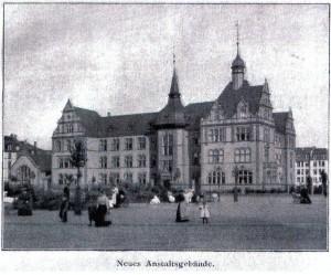 """Die """"Taubstummenanstalt"""" in Frankfurt am Main"""