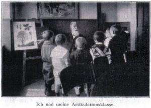 Johannes Vatter unterrichtet seine Schüler