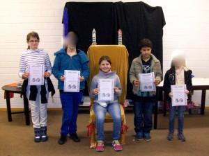 Siegerin in der Klasse L 3/4 wurde Vanessa.
