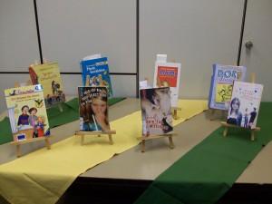 Diese Schülerinnen und Schüler waren am Mittwoch, den 09.04., beim Finale der Besten dabei und lasen noch einmal aus ihren Büchern vor.