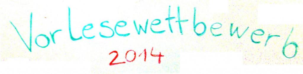 Vorlesewettbewerb 2014