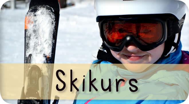 Skifahren lernen beim Skikurs der Johannes-Vatter-Schule