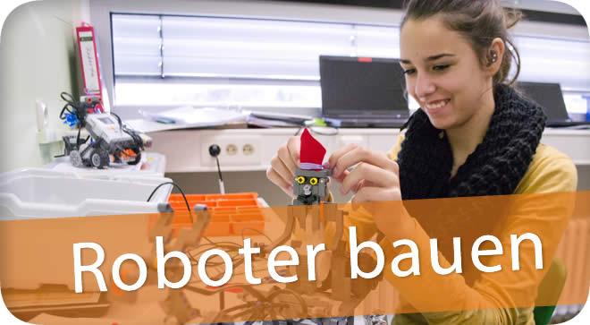 Roboter bauen und programmieren an der Johannes-Vatter-Schule