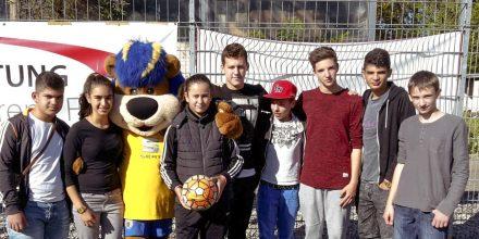 Die Fußballmannschaft der Johannes-Vatter-Schule trat beim Deutschland-Cup der Bildungseinrichtungen für Hörgeschädigte in Braunschweig an.