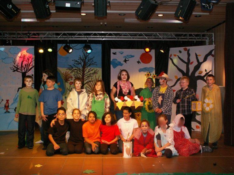 Theater der 4. Grundschulklassen