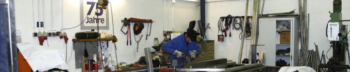 Berufsfachschule: Betriebspraktikum in einem Metallbau-Betrieb