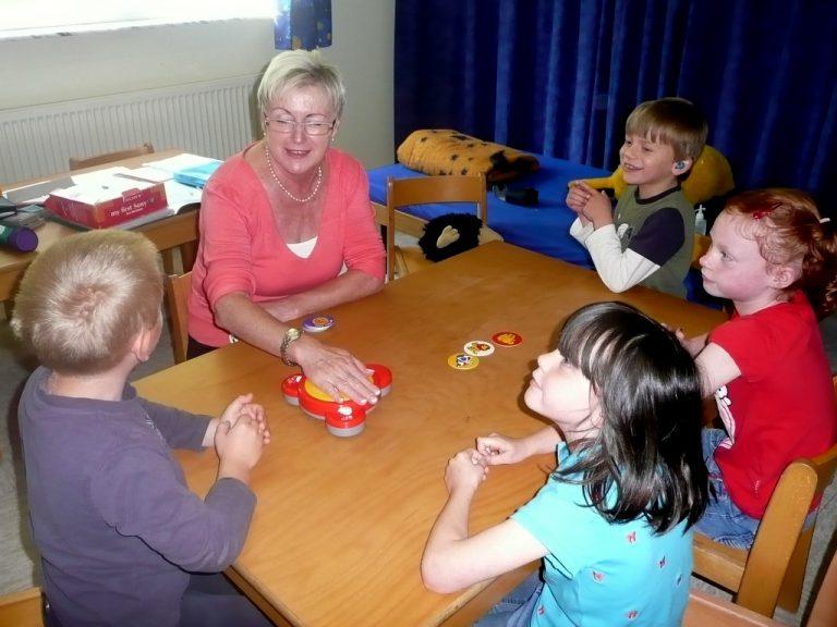 Kleingruppenarbeit im Kindergarten