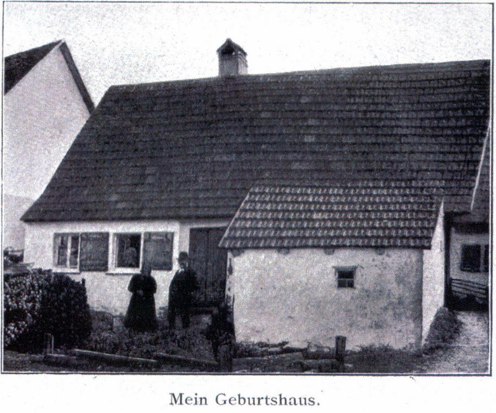 Das Geburtshaus von Johannes Vatter