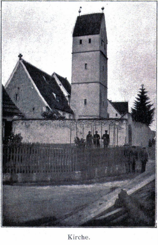 Die Kirche von Trailfingen