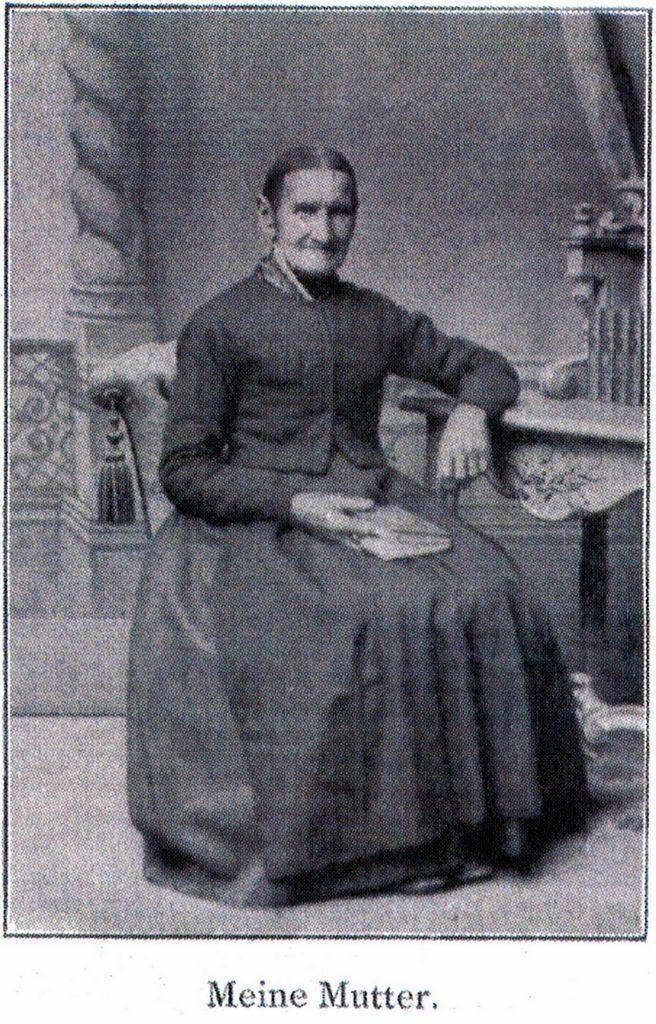 Die Mutter von Johannes Vatter