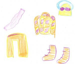 Luisas Kleidung