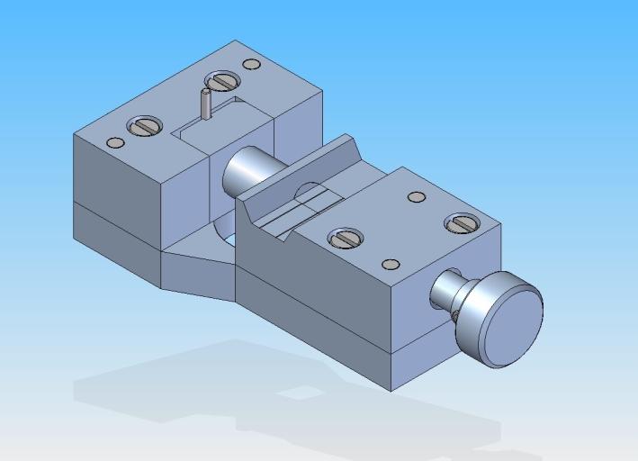 Durchmesser-Prüfvorrichtung für Zylinderstifte