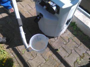 Das saubere Wasser