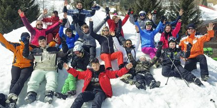 Grüße vom Skikurs 2018 aus Vals, Südtirol