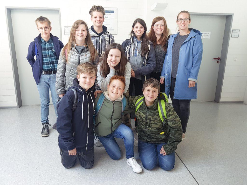 Die Klasse H/R 7 besucht das Berufsbildungswerk Südhessen