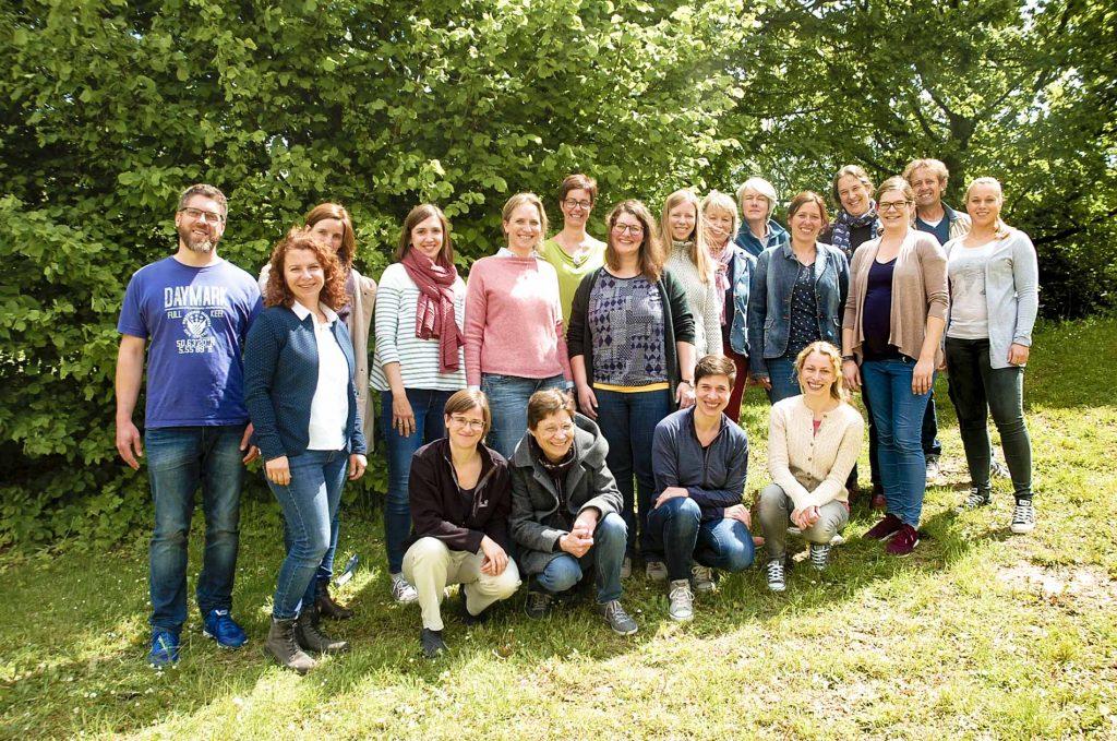 Das Team der Vorbeugenden Maßnahmen im Mai 2019