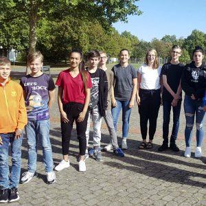 Gruppenfoto der Schülervertretung 2019/2020