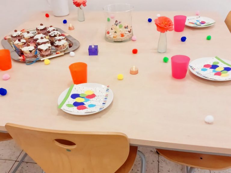 Geburtstagstisch für Lea-zum 6. Geburtstag